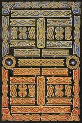 Декупажна хартия - Келтски фризове 650 - Дизайн на David Knight