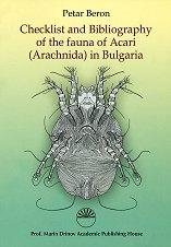 Checklist and Bibliogrphy of the fauna of Acari (Arachnida) in Bulgaria - Petar Beron -