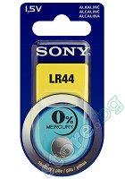 Бутонна батерия LR44 / SR44 - Алкална 1.5 V - 1 брой -