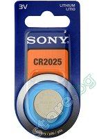 Бутонна батерия CR2025 - Литиева 3V -