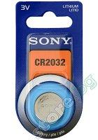 Бутонна батерия CR2032 - Литиева 3V -