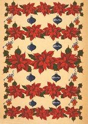 Декупажна хартия - Коледни звезди 323