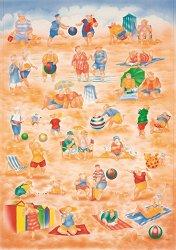 Декупажна хартия - Плажни игри 311 - Дизайн на John Payne