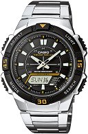 "Часовник Casio Collection - Tough Solar AQ-S800WD-1EVEF - От серията ""Casio Collection: Tough Solar"""