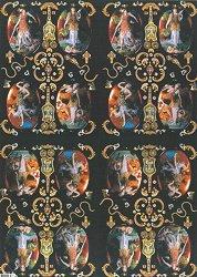 Декупажна хартия - Хартиена магия 119 - Дизайн на Nerida Singleton