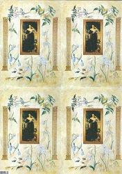 Декупажна хартия - Хартиена магия 121 - Дизайн на Nerida Singleton