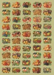 Декупажна хартия - Плодов микс 587 - Дизайн на Russell Leonard