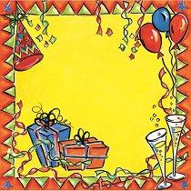 Хартия за скрапбукинг - Празненство SB11 - Дизайн на Mignon Clift