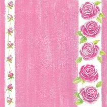 Хартия за скрапбукинг - Розички SB78 - Дизайн на Mignon Clift