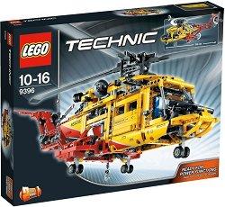 """Хеликоптер - 2 в 1 - Детски конструктор от серията """"Technic"""" - играчка"""
