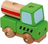 Цистерна - Дървен конструктор -