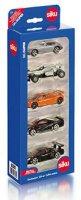 """Спортни автомобили - Комплект от 5 метални колички от серията """"Gift sets"""" - играчка"""