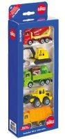 """Строителни превозни средства - Комплект от 5 метални играчки от серията """"Gift sets"""" - играчка"""