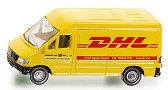 """Пощенски микробус - DHL - Метална количка от серията """"Super: Private cars"""" - творчески комплект"""