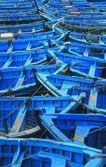 Сините лодки - пъзел