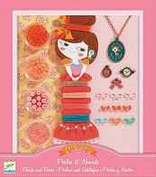 Създай сама бижута - С перли и панделки - Творчески комплект - играчка