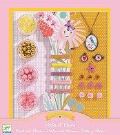 Създай сама бижута - С перли и цветя - Творчески комплект - играчка