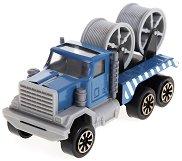 Камион превозващ кабели - детски аксесоар