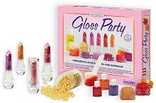 Създай сама червило - Gloss Party - Творчески комплект - несесер