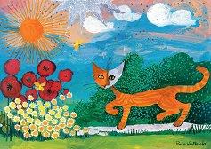 Маргаритки - Сребърна колекция - Розина Вахтмайстер (Rosina Wachtmeister) - пъзел
