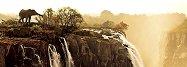 """Мини пъзел - панорама: Слон - Колекция """"Александър Фон Хумболт"""" (Alexander von Humboldt) -"""