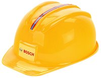 """Детска работна каска - Bosch - Аксесоар от серията """"Bosch-mini"""" - играчка"""