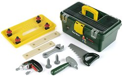 """Кутия с детски инструменти и винтоверт - Bosch - Играчки от серията """"Bosch-mini"""" - несесер"""