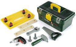 """Кутия с детски инструменти и винтоверт - Bosch - Играчки от серията """"Bosch-mini"""" - играчка"""