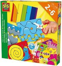 Уча се да изрязвам - Творчески комплект - играчка