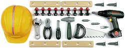 Комплект детски инструменти и аксесоари с акумулаторна  бормашина - Bosch -