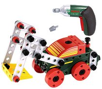 Комплект конструктор с винтоверт и инструменти - Bosch - играчка