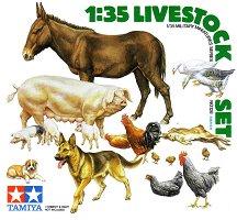 Домашни животни - Комплект от 18 фигури - макет
