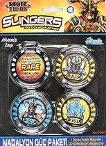 """Слингърс медальони - Комплект от серията """"Слингърс: Войната на титаните"""" - детски аксесоар"""