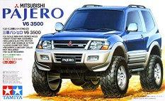 Джип - Mitsubishi Pajero V6 3500 - Сглобяем модел с мотор -