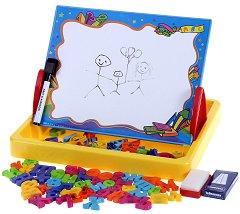 """Многофункционално куфарче - 3 в 1 - Комплект от серията """"Моята азбука"""" - играчка"""