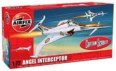Изтребител - Angel Interceptor - Сглобяем авиомодел -