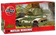 """Танк - Matilda """"Hedgehog"""" - Сглобяем модел -"""