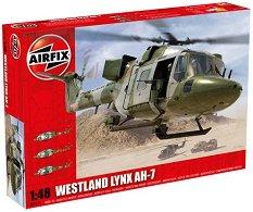Военен хеликоптер - Westland Lynx Army AH-7 - Сглобяем авиомодел -