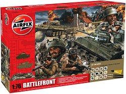 WWII Battle Front - Комплект диорама, фигури и бои -