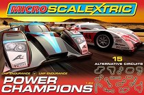 Състезателна писта с колички - Power Champions -