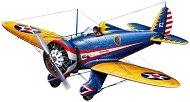 Военен самолет - P-26A Peashooter - Сглобяем авиомодел - макет