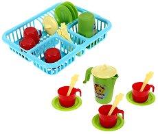 """Детска сушилня със сервиз за чай - Играчка от серията """"Мечо Пух"""" -"""