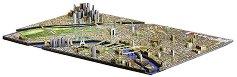 """Париж, Франция - 4D пъзел от серията """"Cityscape - History Over Time"""" - пъзел"""