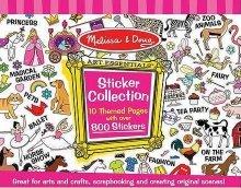 Блокче със стикери за момичета - творчески комплект