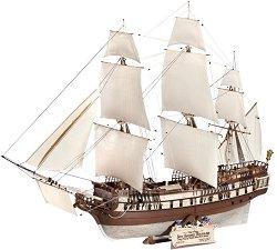 Ветроходен кораб - U.S.S. BonHomme Richard - Сглобяем модел -