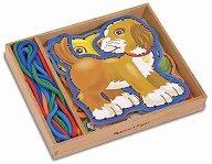Дървени животни - играчка