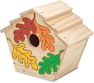Направи си сам: Къщичка за птици - Творчески комплект - фигура