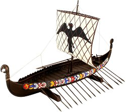 Дракар - Viking - Сглобяем модел -