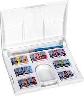 """Акварелни бои - Compact Set - Комплект от 14 цвята от серията """"Cotman"""""""