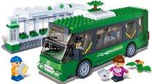 Автобусна спирка - Детски конструктор - играчка